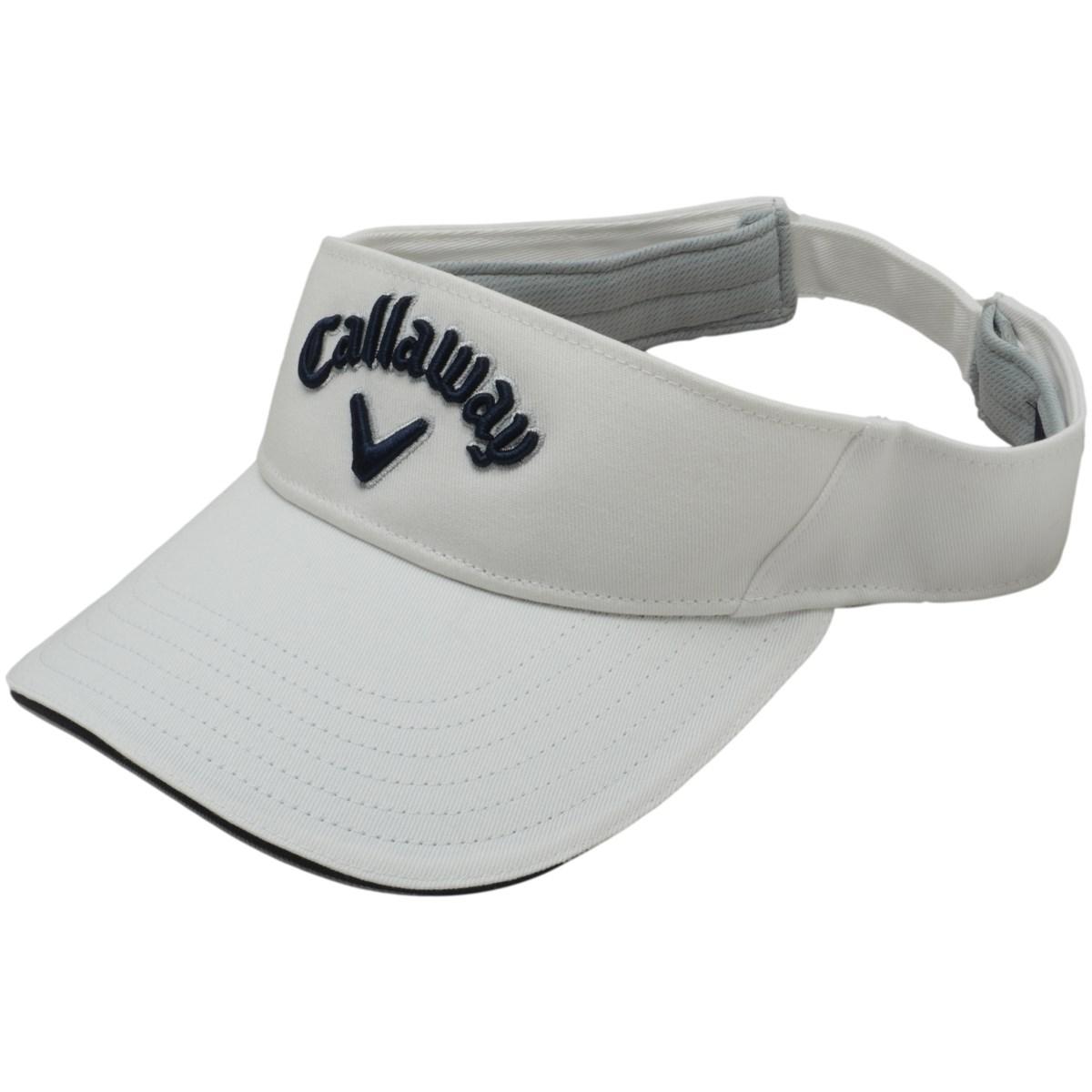 キャロウェイゴルフ Callaway Golf ベーシックサンバイザー フリー ホワイト/ネイビー 030 レディス