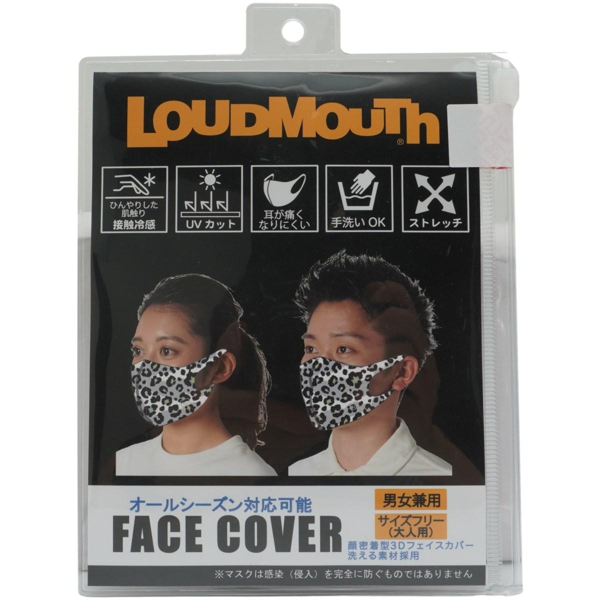 ラウドマウスゴルフ Loud Mouth Golf マスク スノーレオパード 286 フリー