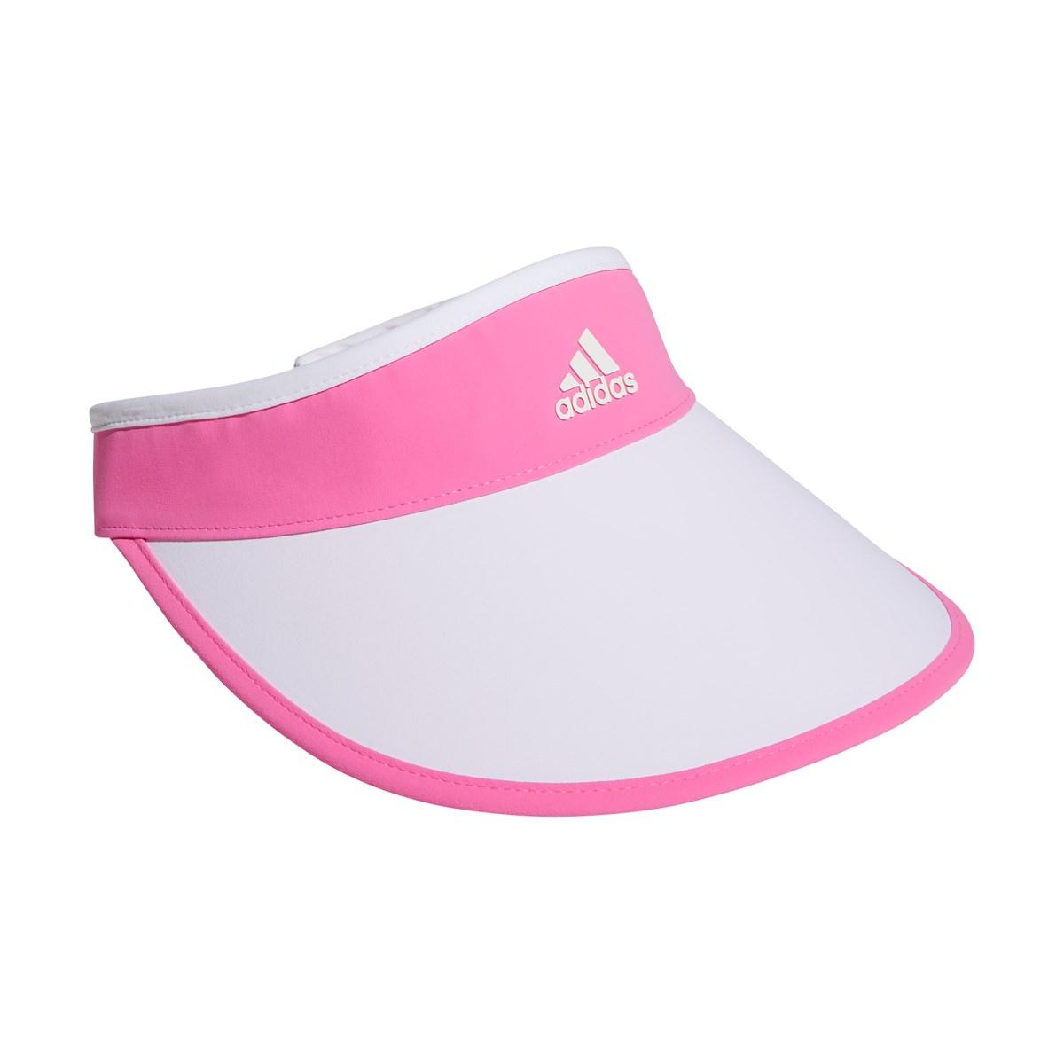 アディダス Adidas UVコンパクトサンバイザー フリー スクリーミングピンク レディス