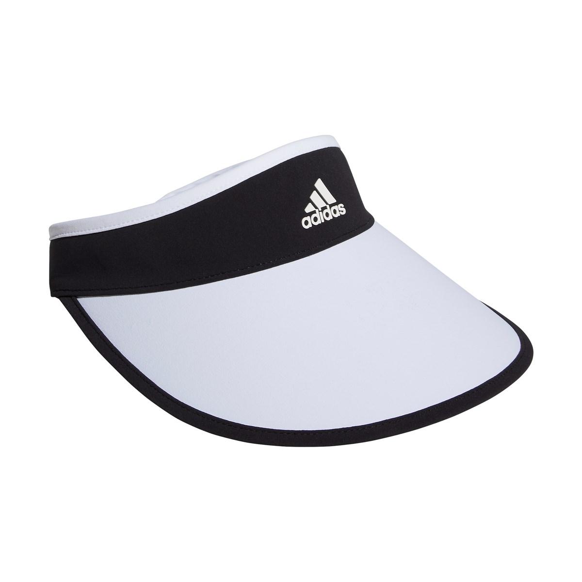 アディダス Adidas UVコンパクトサンバイザー フリー ブラック レディス