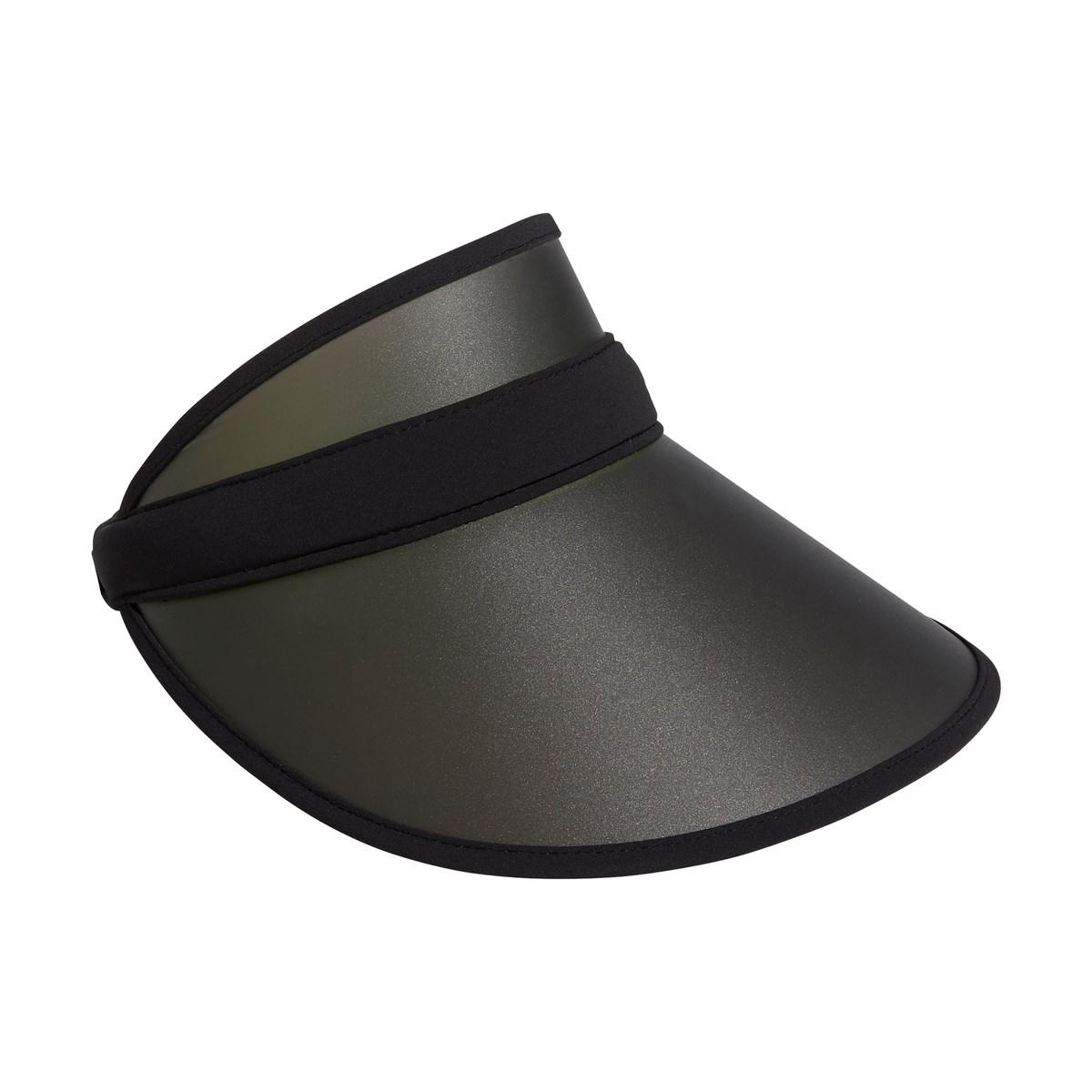 アディダス Adidas UVクリップサンバイザー フリー ブラック/ブラック レディス