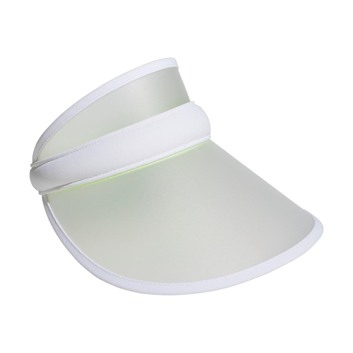 アディダス Adidas UVクリップサンバイザー フリー ホワイト/シルバーメタリック レディス