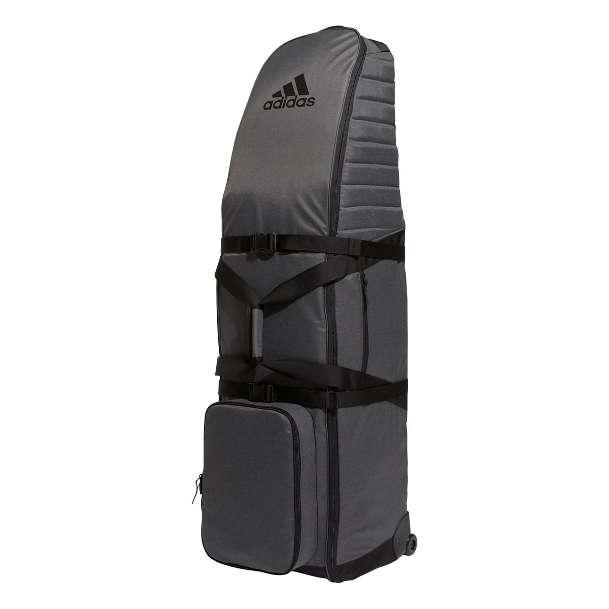 アディダス Adidas トラベルキャディバッグキャリーケース ダークグレイヘザー