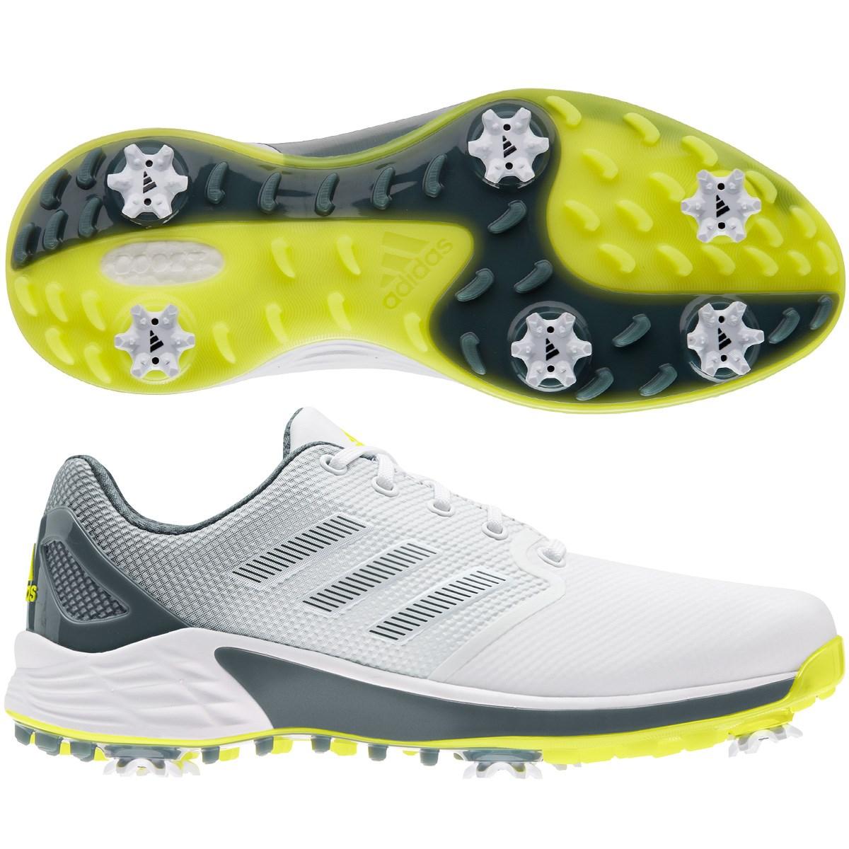 アディダス Adidas ゼッドジー21シューズ 24.5cm フットウェアホワイト/アシッドイエロー/ブルーオキサイド