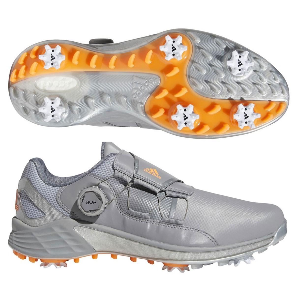 アディダス Adidas ゼッドジー21ボアシューズ 26.5cm グレースリー/スクリーミングオレンジ/シルバーメタリック