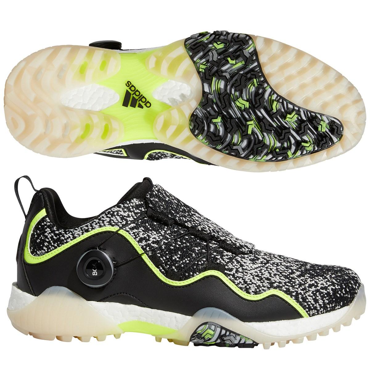 アディダス Adidas コードカオスボア21シューズ 26cm コアブラック/フットウェアホワイト/ソーラーイエロー