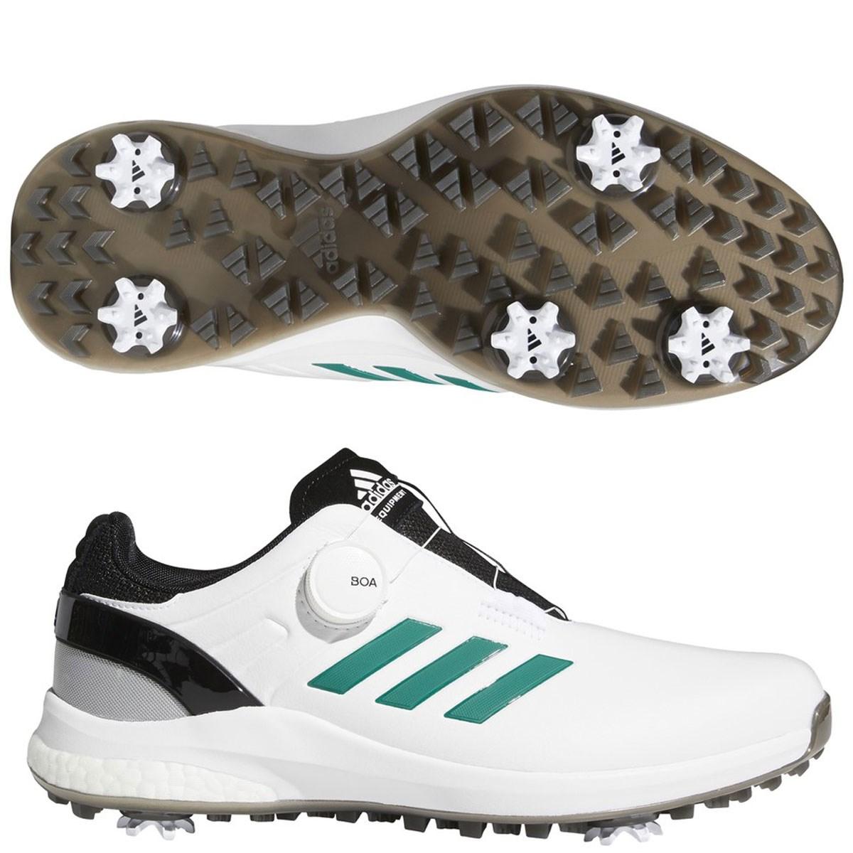 アディダス Adidas EQTボアシューズ 24.5cm フットウェアホワイト/サブグリーン/コアブラック