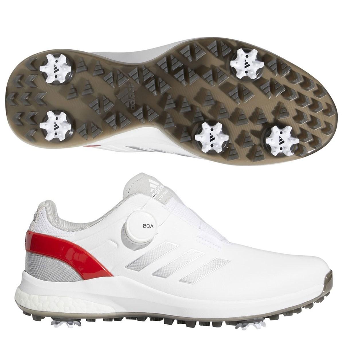 アディダス Adidas EQTボアシューズ 24.5cm フットウェアホワイト/シルバーメタリック/スカーレット
