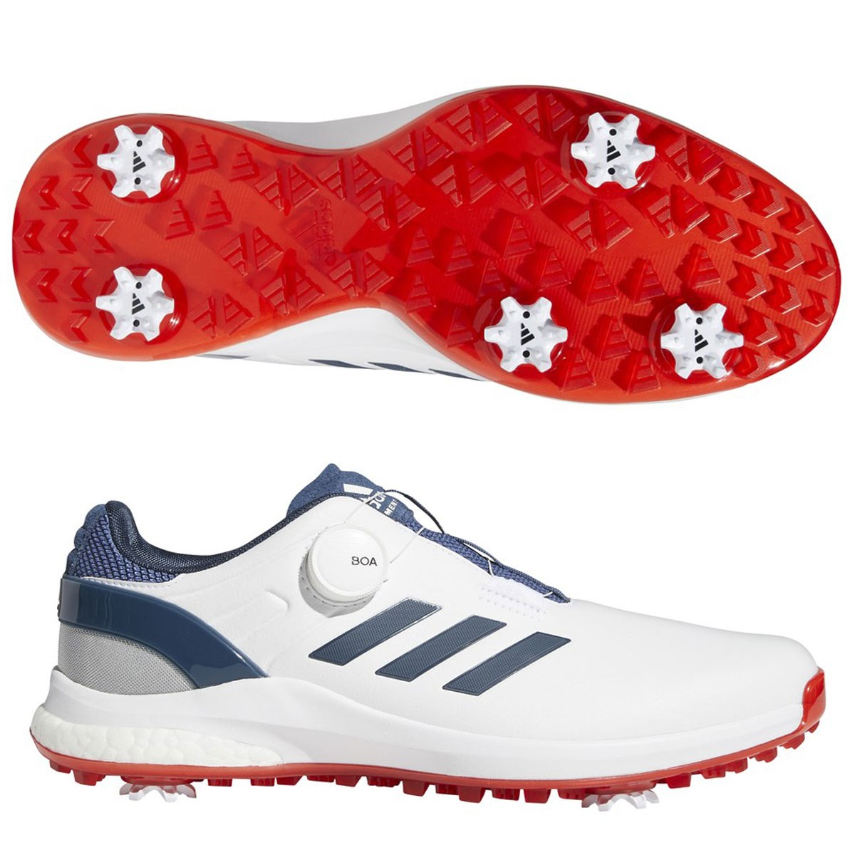 アディダス Adidas EQTボアシューズ 28cm フットウェアホワイト/クルーネイビー/スカーレット