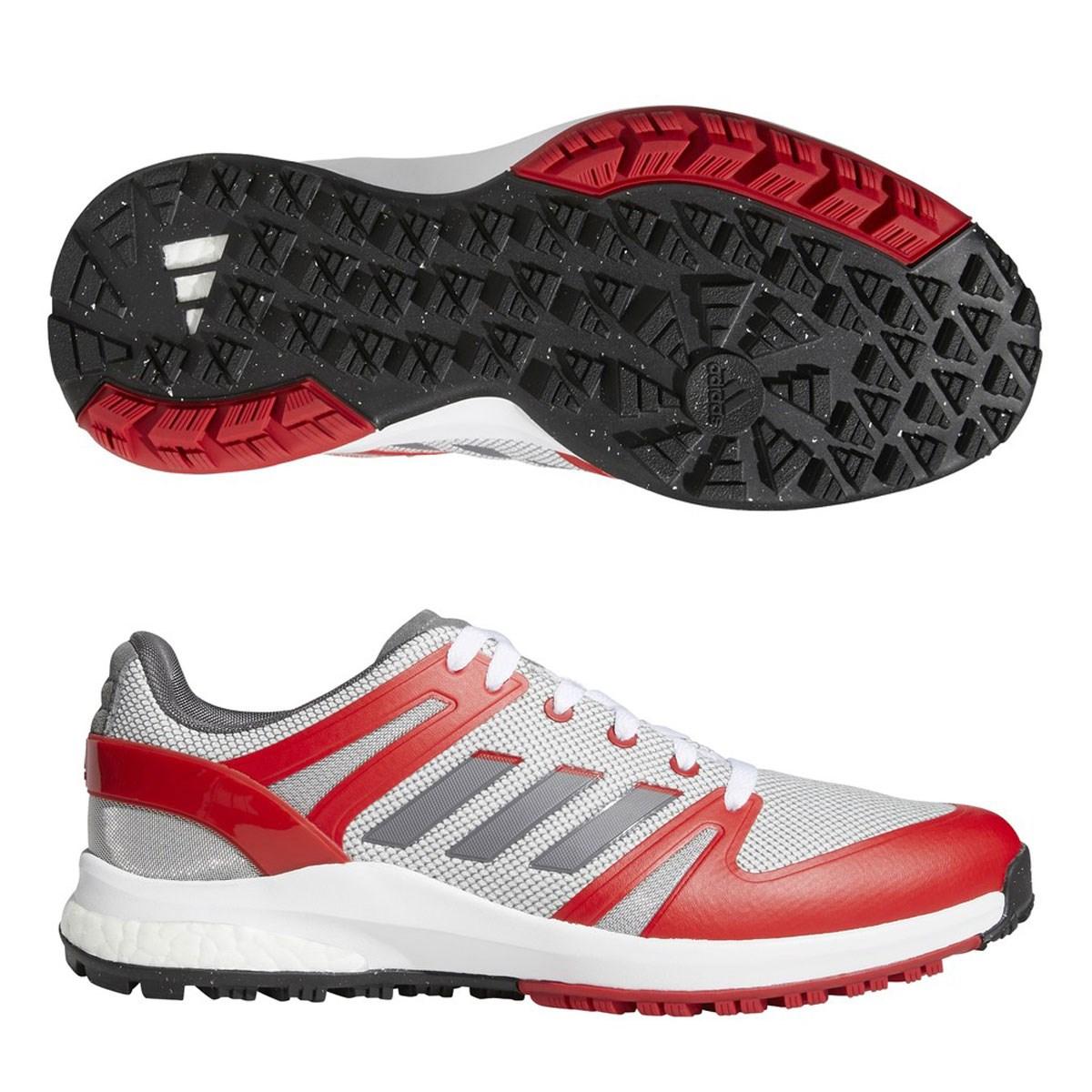 アディダス Adidas EQTスパイクレスシューズ 24.5cm フットウェアホワイト/グレーフォー/スカーレット