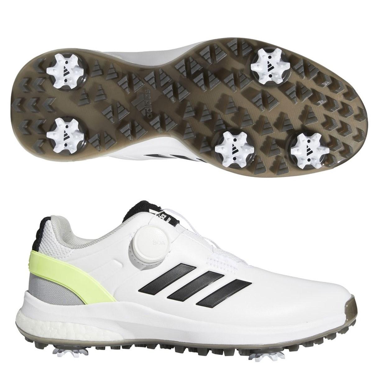 アディダス Adidas EQTボアシューズ 25cm フットウェアホワイト/コアブラック/ハイレゾイエロー レディス