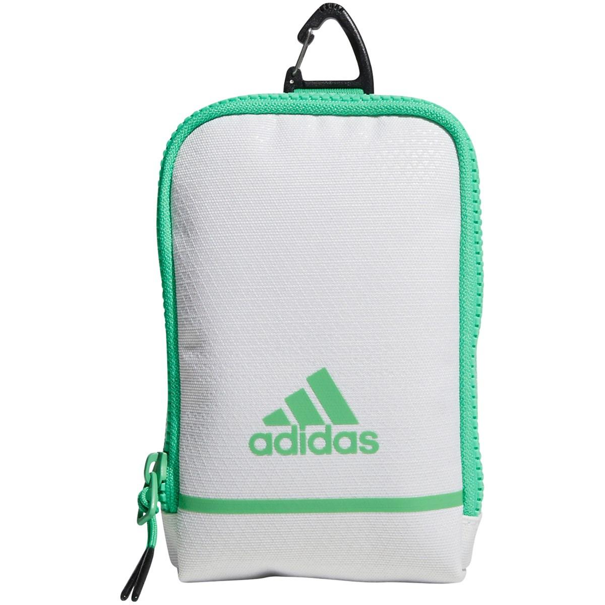 [2021年モデル] アディダス adidas アクセサリーポーチ ホワイト/セミスクリーミンググリーン メンズ ゴルフ