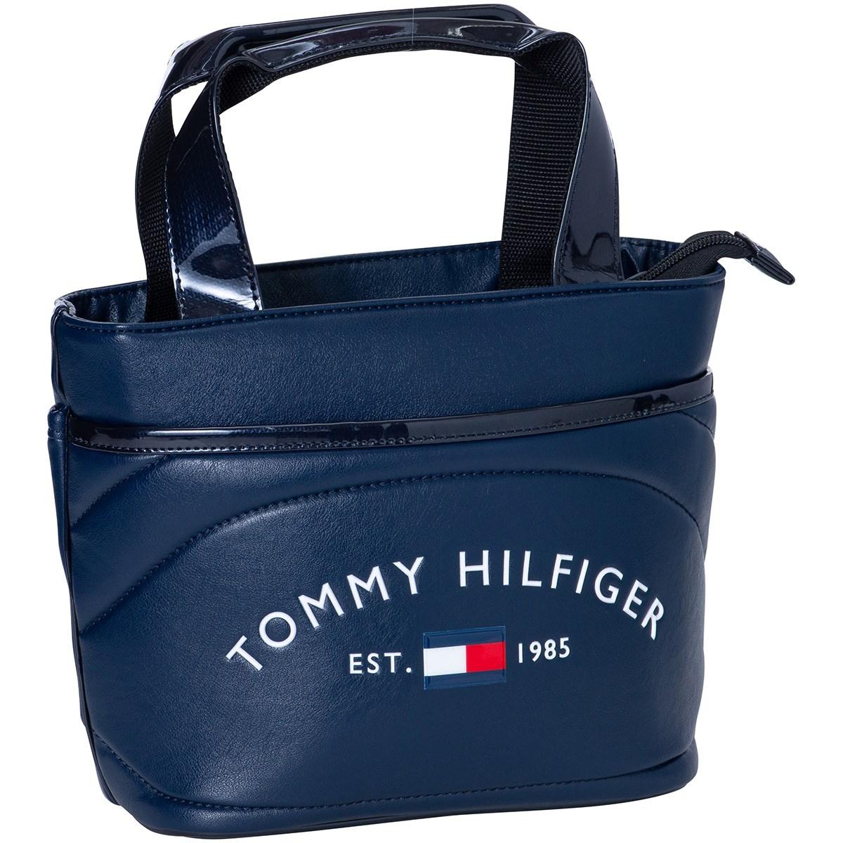 トミー ヒルフィガー ゴルフ TOMMY HILFIGER GOLF ラウンドロゴラウンドバッグ ネイビー 30