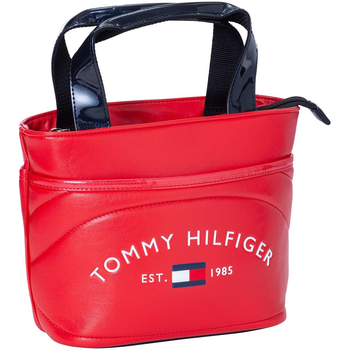 トミー ヒルフィガー ゴルフ TOMMY HILFIGER GOLF ラウンドロゴラウンドバッグ レッド 40