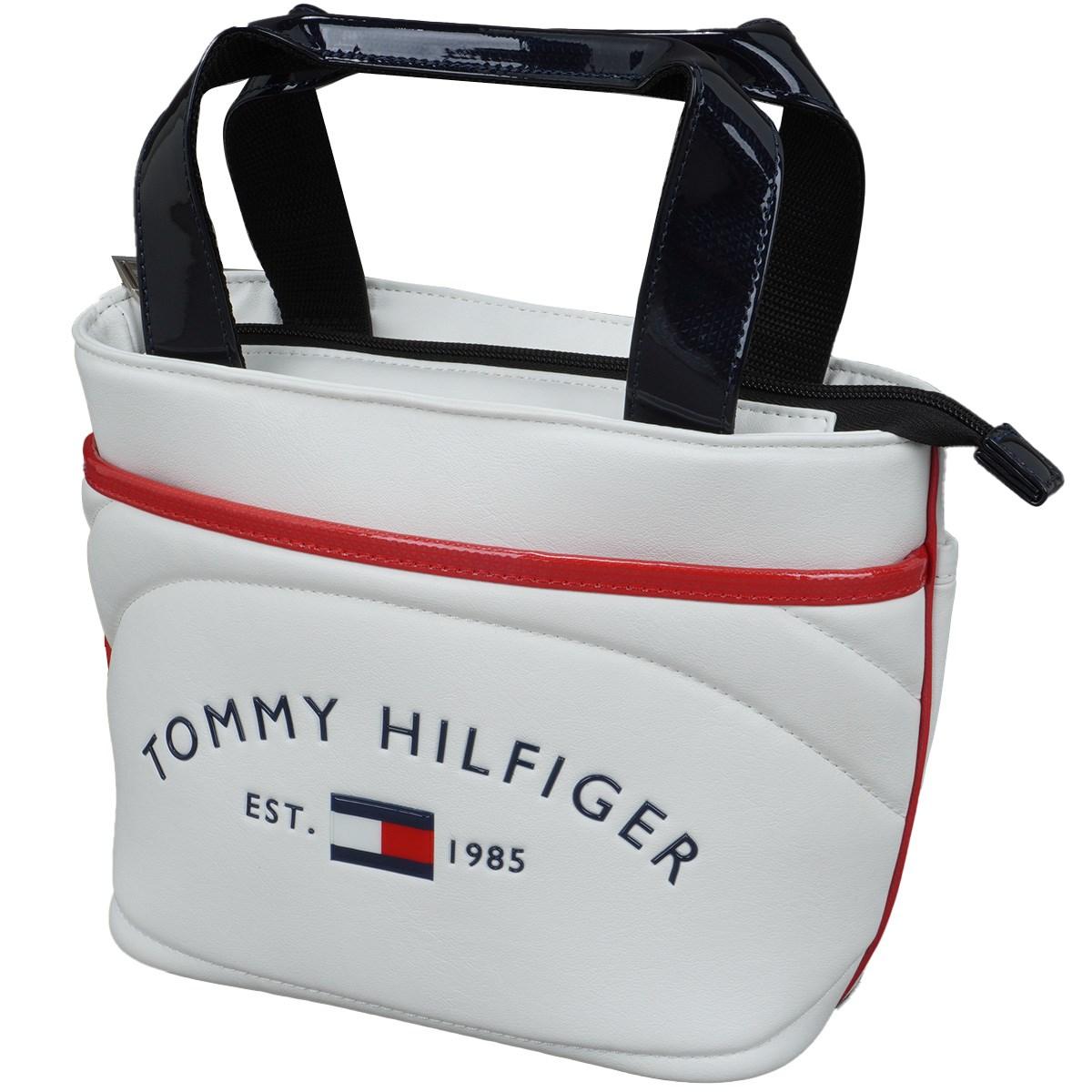 トミー ヒルフィガー ゴルフ TOMMY HILFIGER GOLF ラウンドロゴラウンドバッグ ホワイト 00