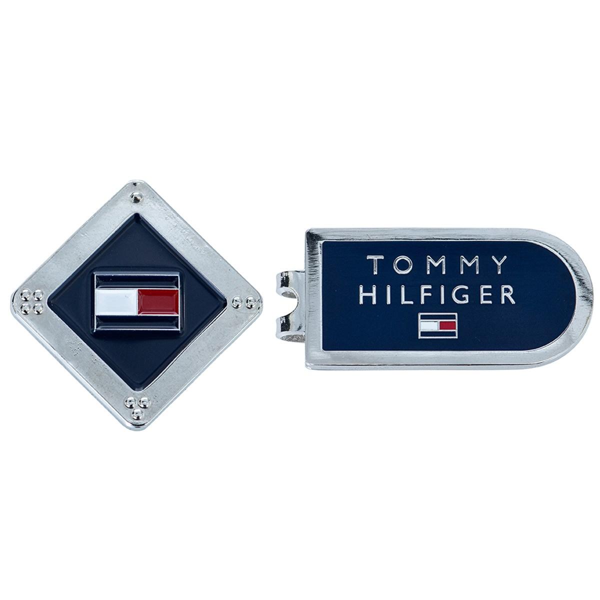 トミー ヒルフィガー ゴルフ TOMMY HILFIGER GOLF メタルマーカー ネイビー 30