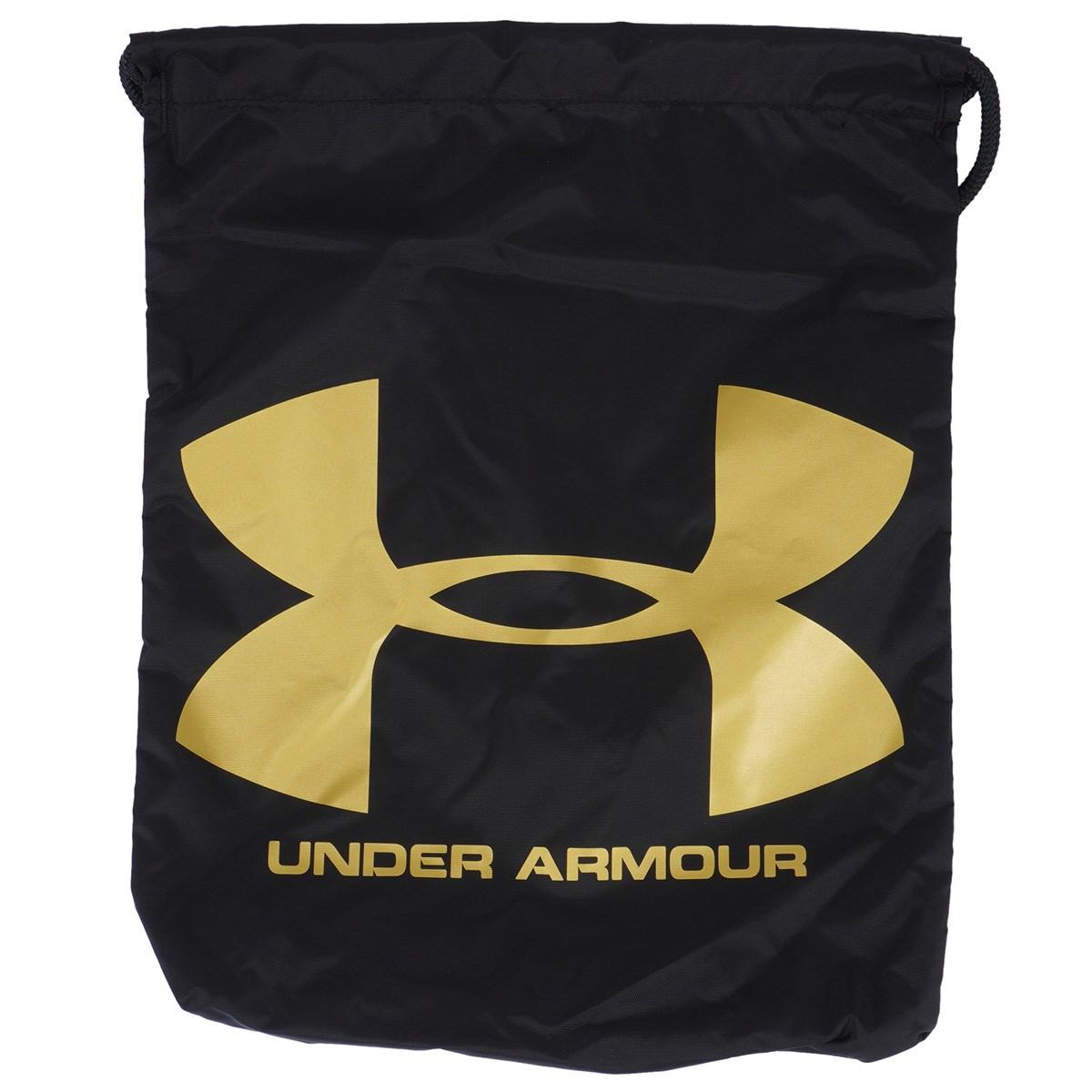 アンダーアーマー Under Armour UA Ozsee サックパック Black/Black/Metallic Gold