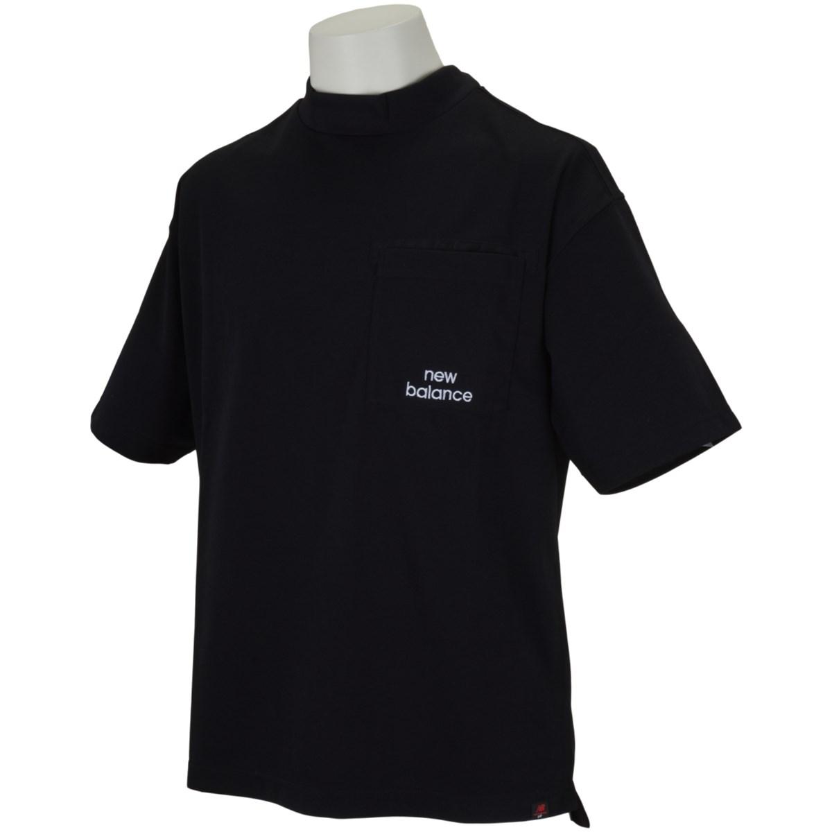 ニューバランス New Balance METRO 半袖モックネックシャツ 4 ブラック