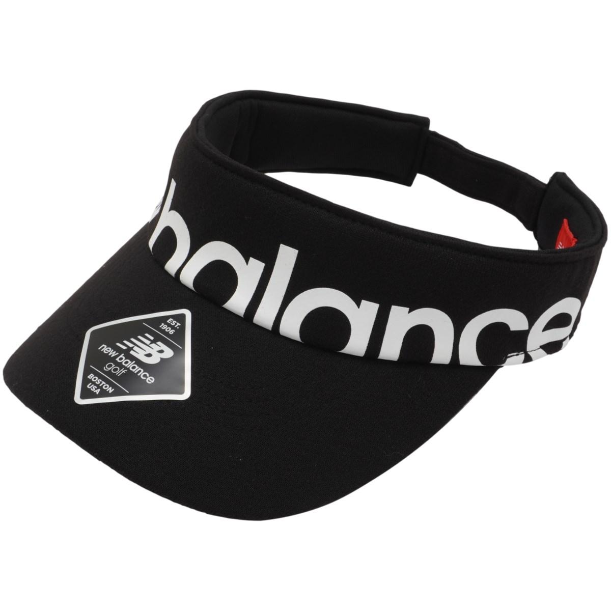 ニューバランス New Balance SPORT サンバイザー フリー ブラック レディス