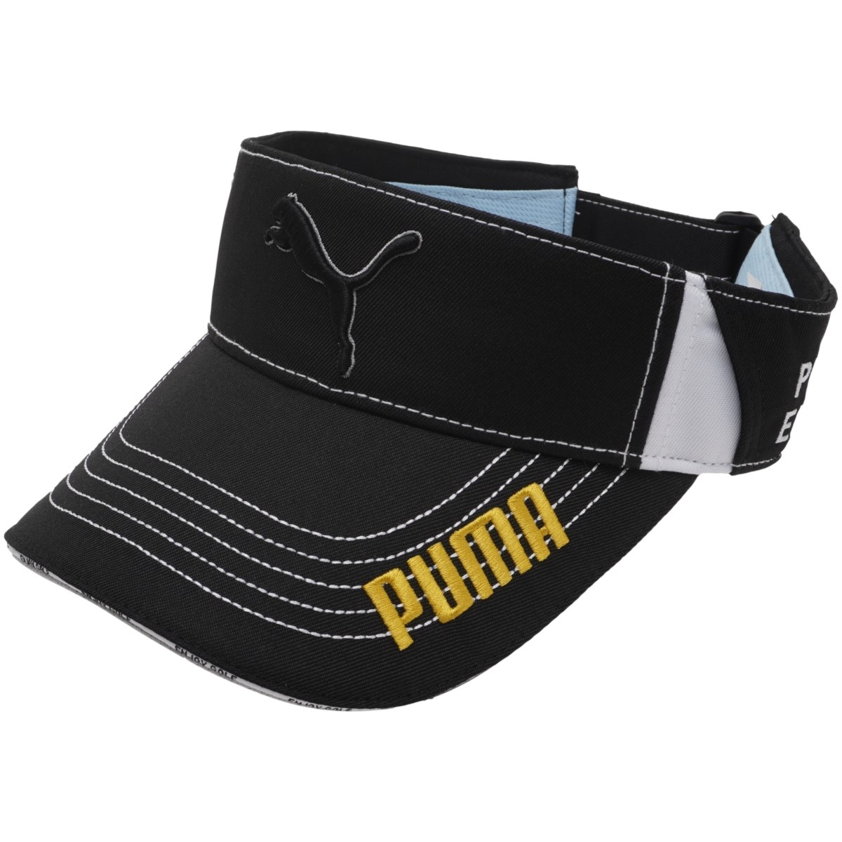 プーマ PUMA W ツアーラウンドサンバイザー フリー プーマ ブラック 01 レディス