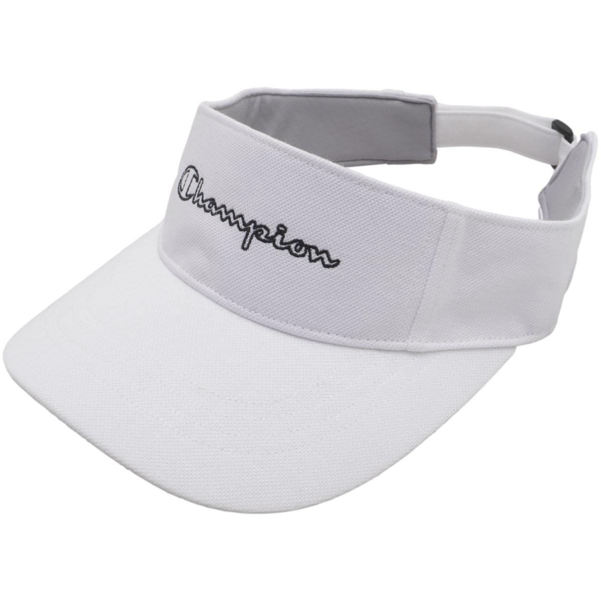 チャンピオンゴルフ Champion GOLF サンバイザー フリー ホワイト 010 レディス