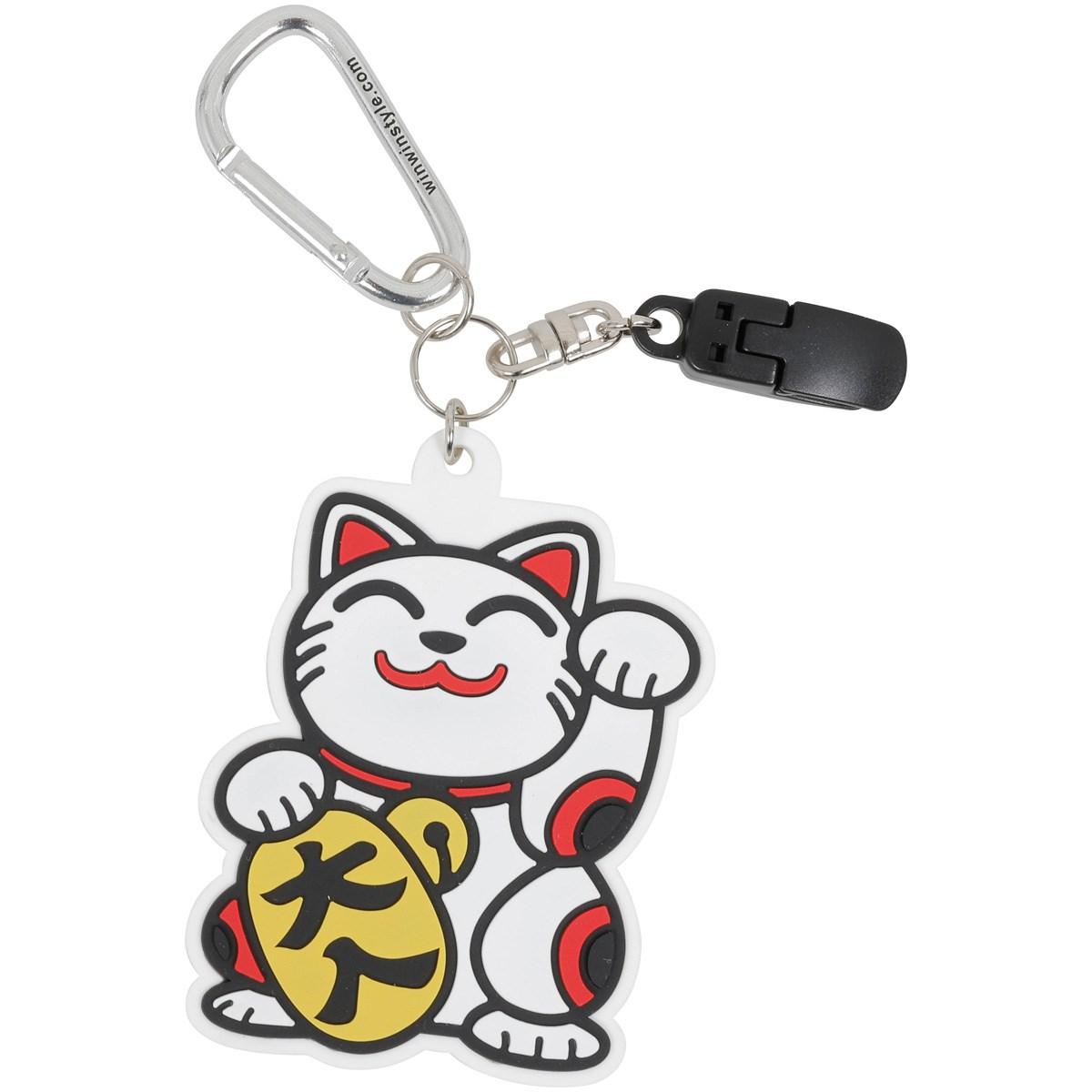 WINWIN STYLE ウィンウィンスタイル パターキャッチャー ホワイト/HAPPY CATs