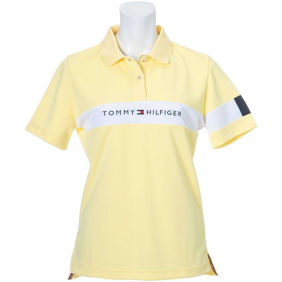 トミー ヒルフィガー ゴルフ TOMMY HILFIGER GOLF TOMMYロゴ 半袖ポロシャツ S イエロー レディス