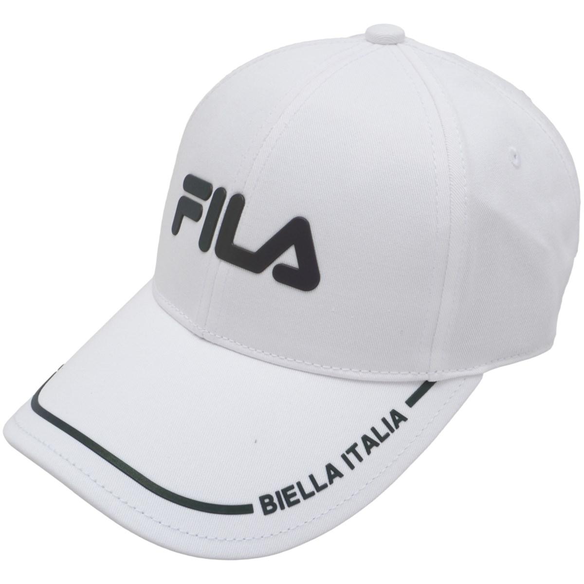 フィラ FILA キャップ フリー ホワイト レディス