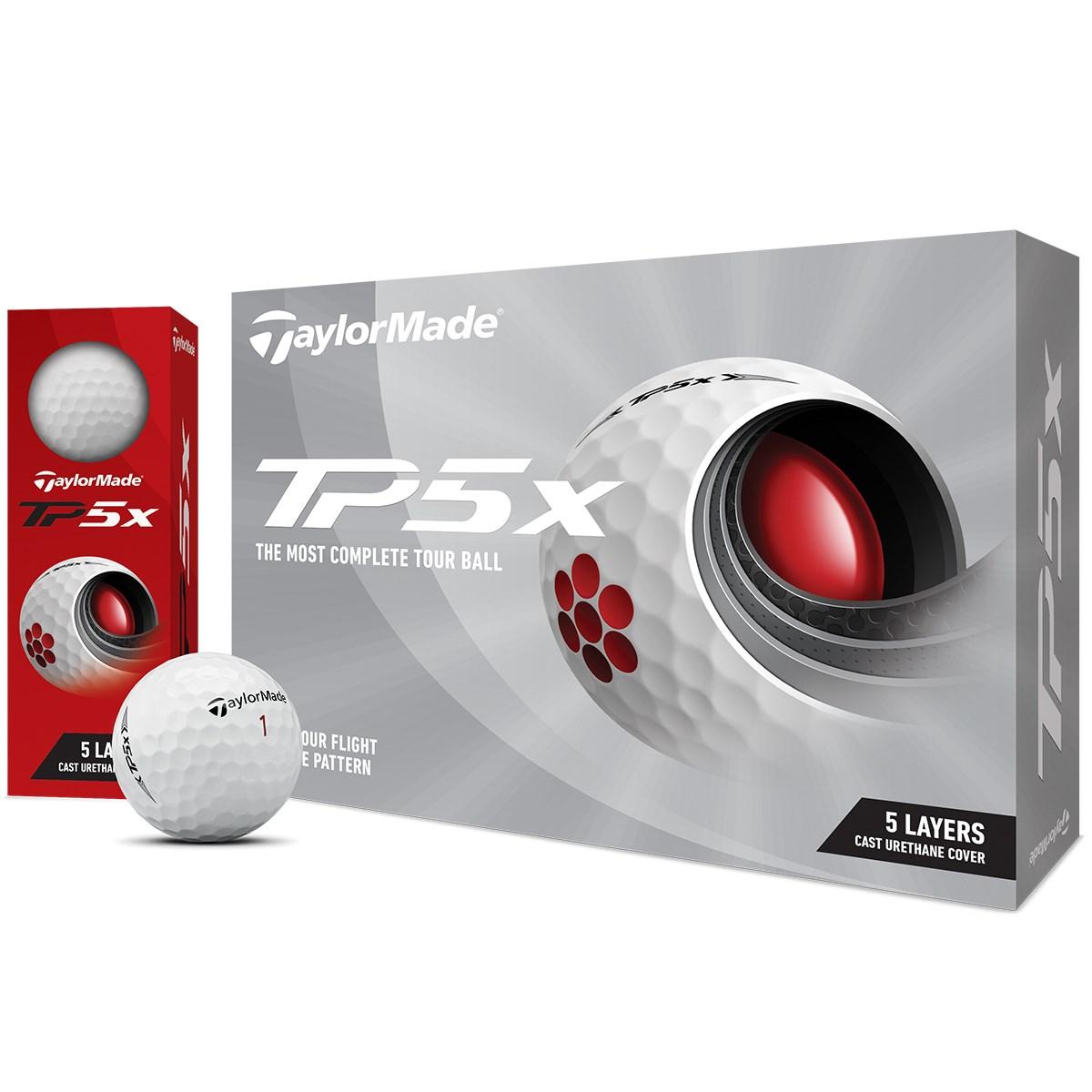 テーラーメイド TP TP5x ボール 1ダース(12個入り) ホワイト