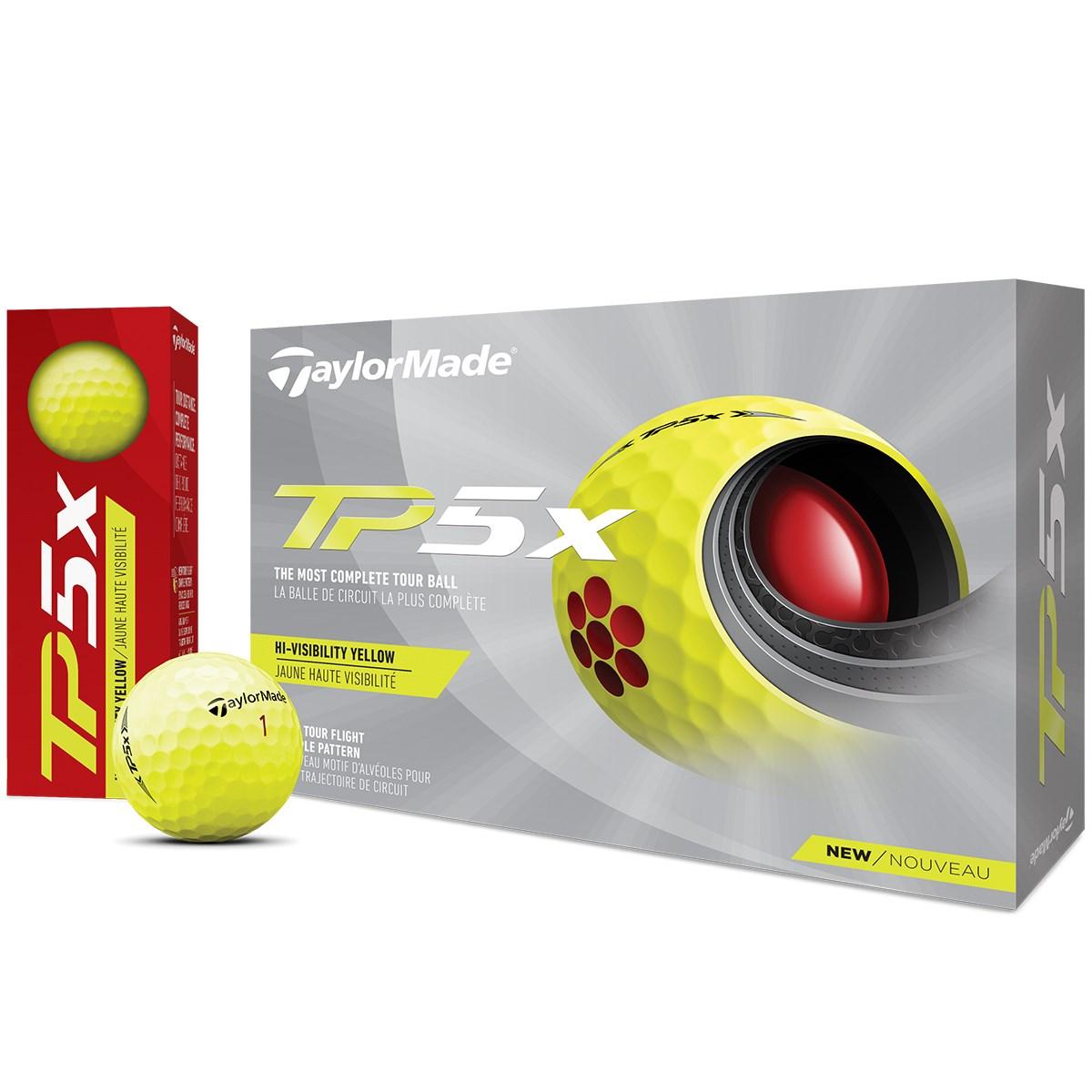 テーラーメイド TP TP5x ボール 1ダース(12個入り) イエロー