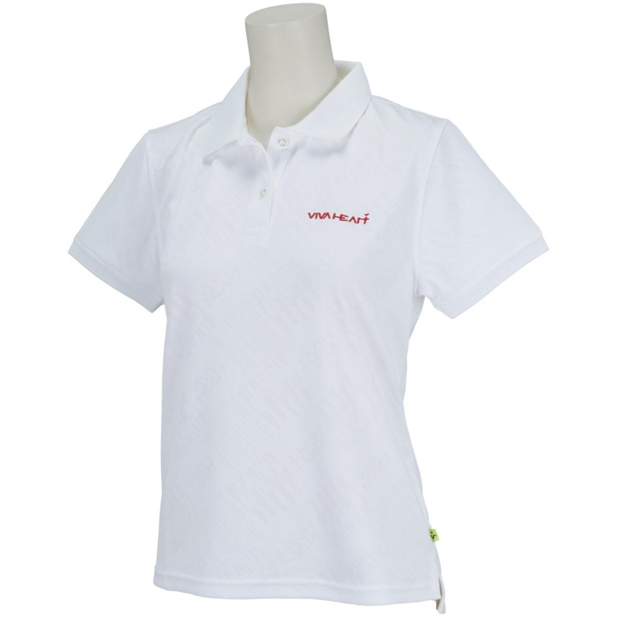 ビバハート VIVA HEART リンクス 半袖ポロシャツ 40(M) オフホワイト 005 レディス