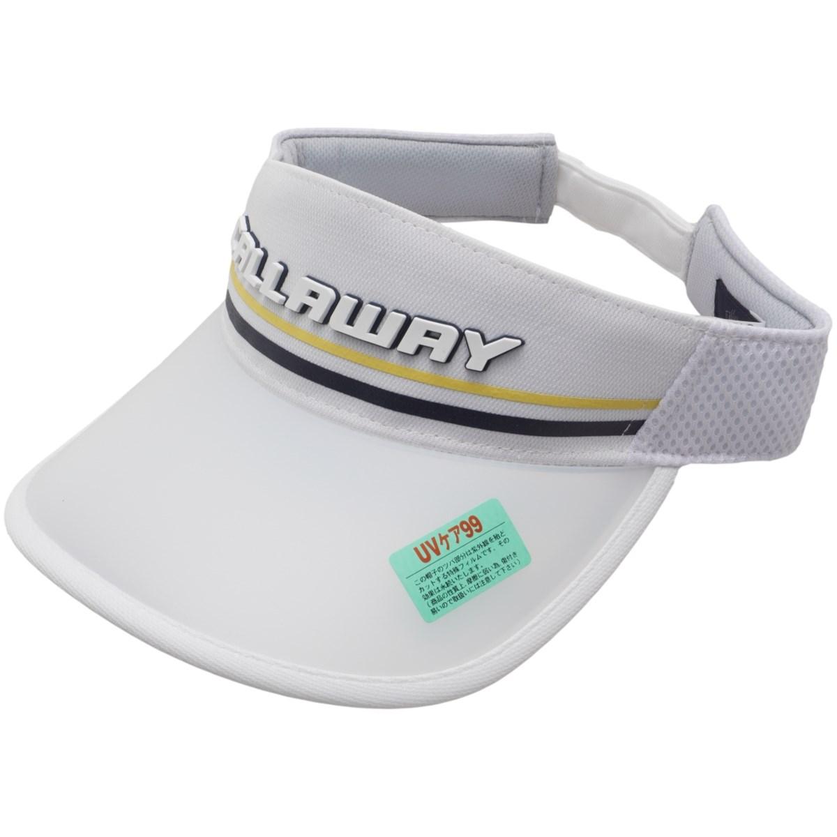 キャロウェイゴルフ Callaway Golf UVつばダブルラッセルサンバイザー フリー ホワイト 030 レディス