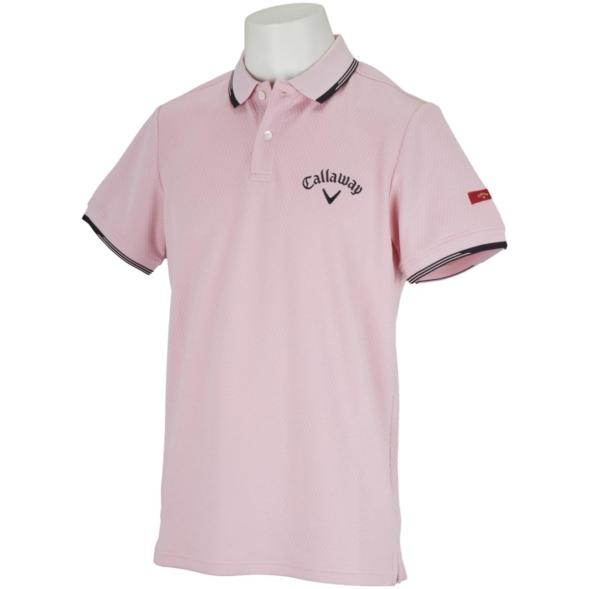 キャロウェイゴルフ CALLAWAY RED LABEL 半袖ポロシャツ M ピンク 090