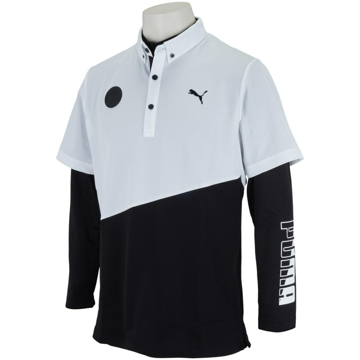 プーマ PUMA インナーセット 半袖ポロシャツ L プーマ ブラック 01