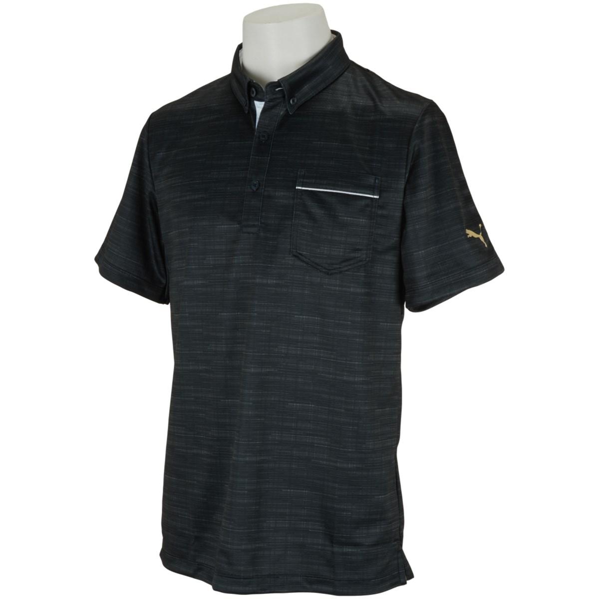 プーマ PUMA ノイズ スイングカット 半袖ポロシャツ S プーマ ブラック 01