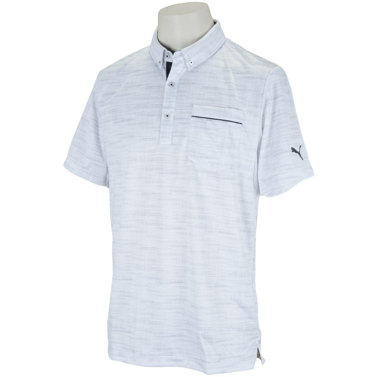 プーマ PUMA ノイズ スイングカット 半袖ポロシャツ S ブライト ホワイト 03