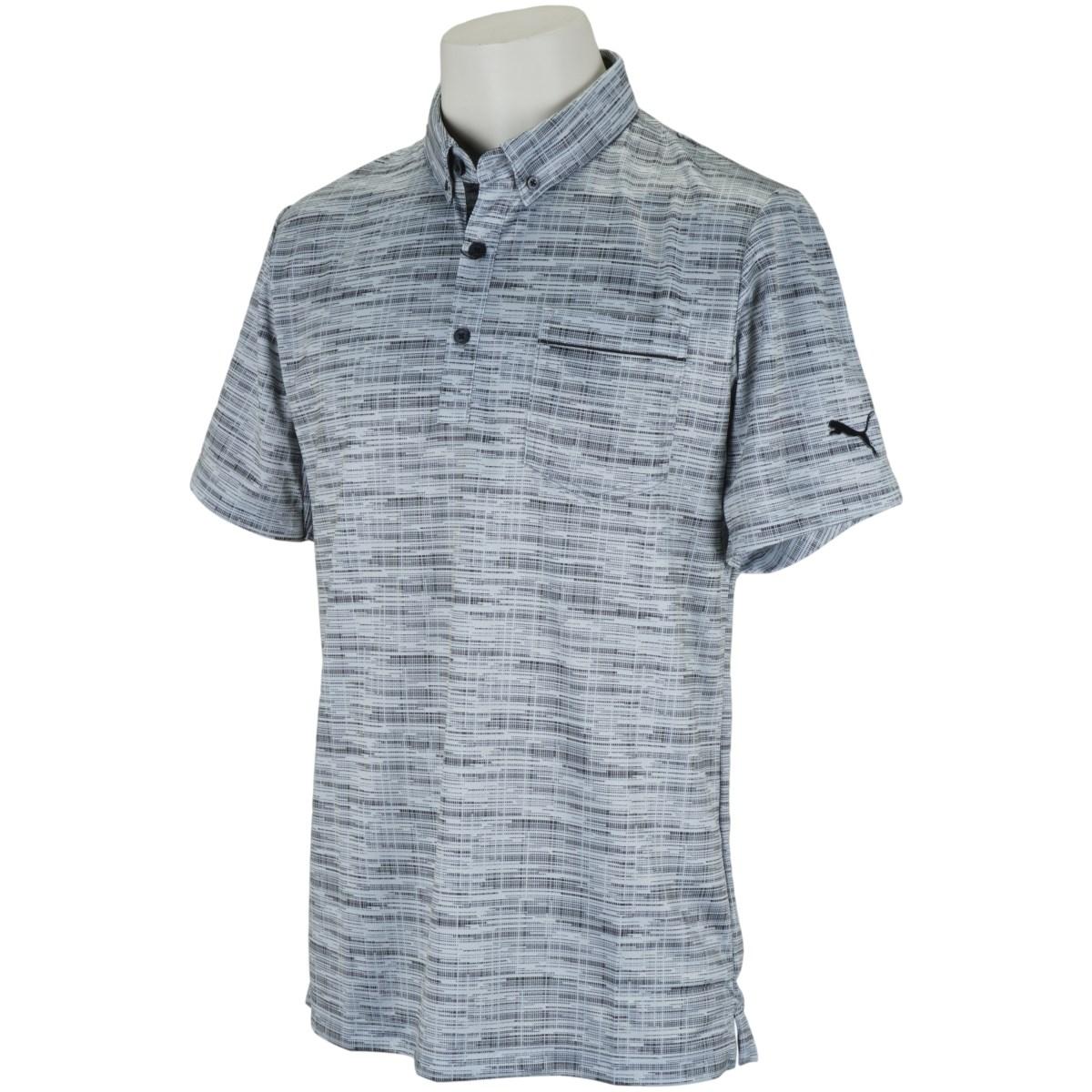 プーマ PUMA ノイズ スイングカット 半袖ポロシャツ M ハイライズ/プーマ ブラック 02