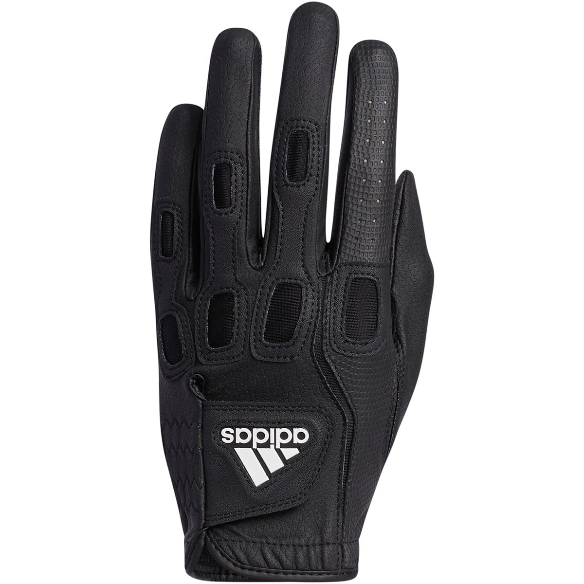 アディダス Adidas マルチフィット9 グローブ 5枚セット 25cm 左手着用(右利き用) ブラック/ホワイト