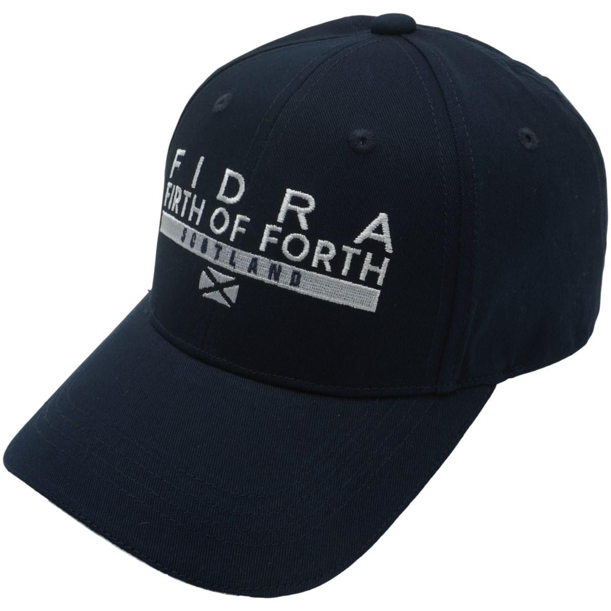 フィドラ FIDRA ツイルキャップ フリー ネイビー レディス