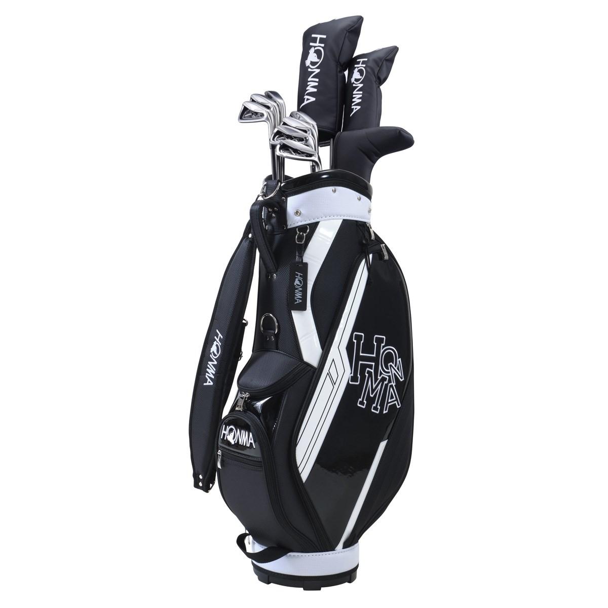 本間ゴルフ HONMA D1 オールインワンセット(10本セット) アイアンD1-500 R ブラック