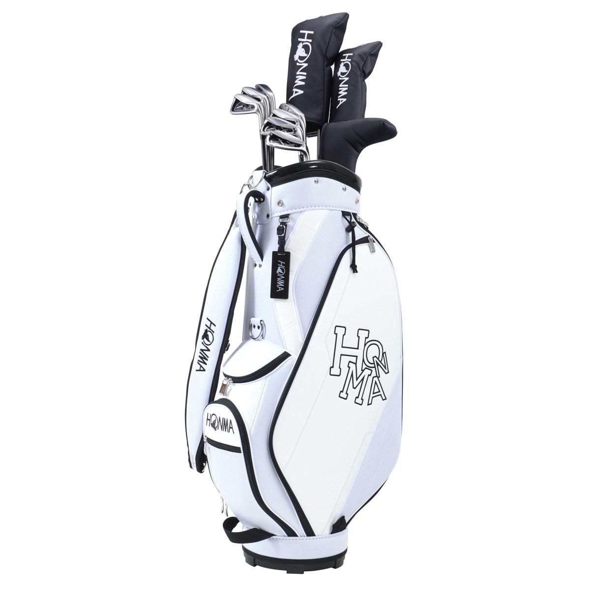 本間ゴルフ HONMA D1 オールインワンセット(10本セット) アイアンD1-500 R ホワイト