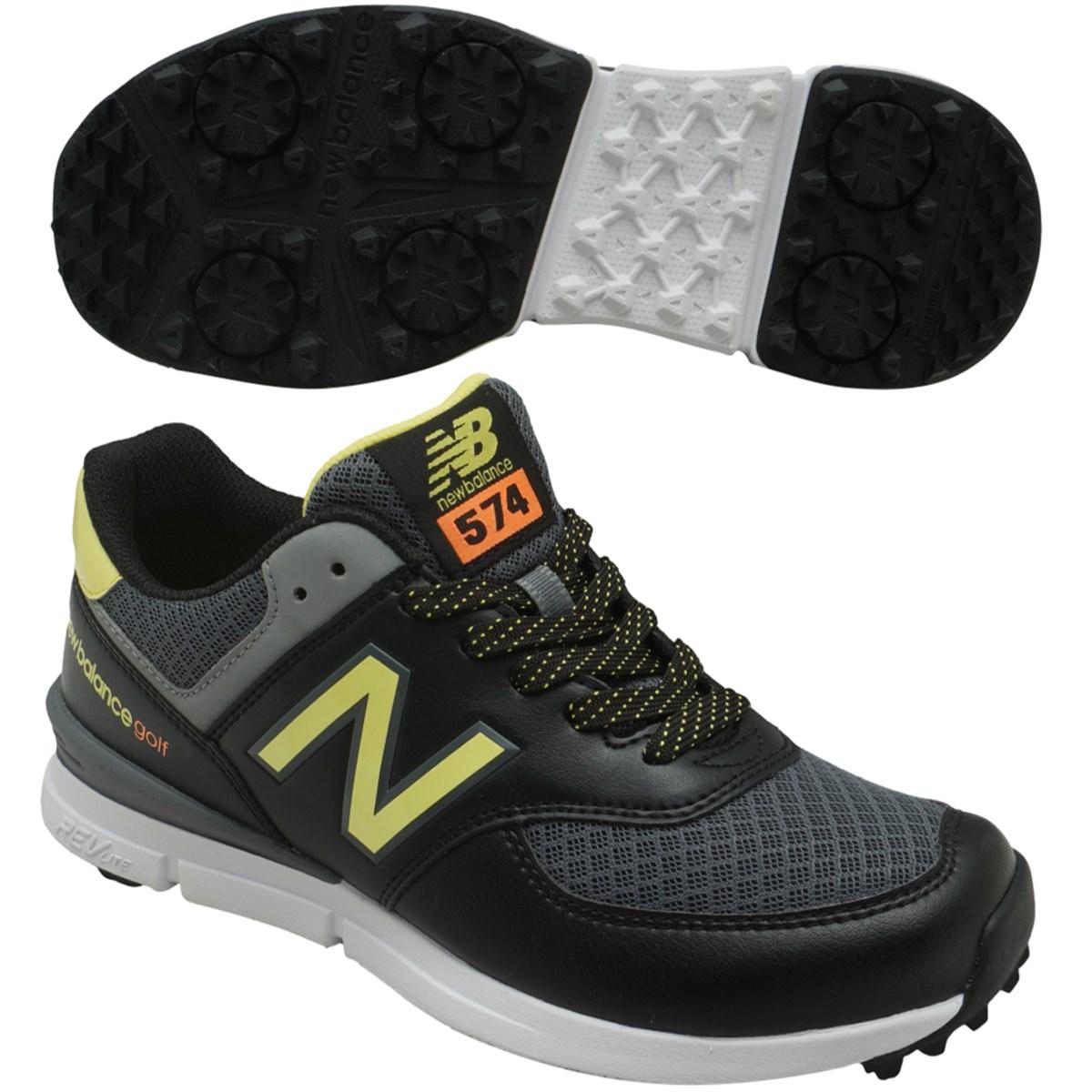 ニューバランス New Balance スパイクレスシューズ UGS574 22.5cm ブラック/ライム