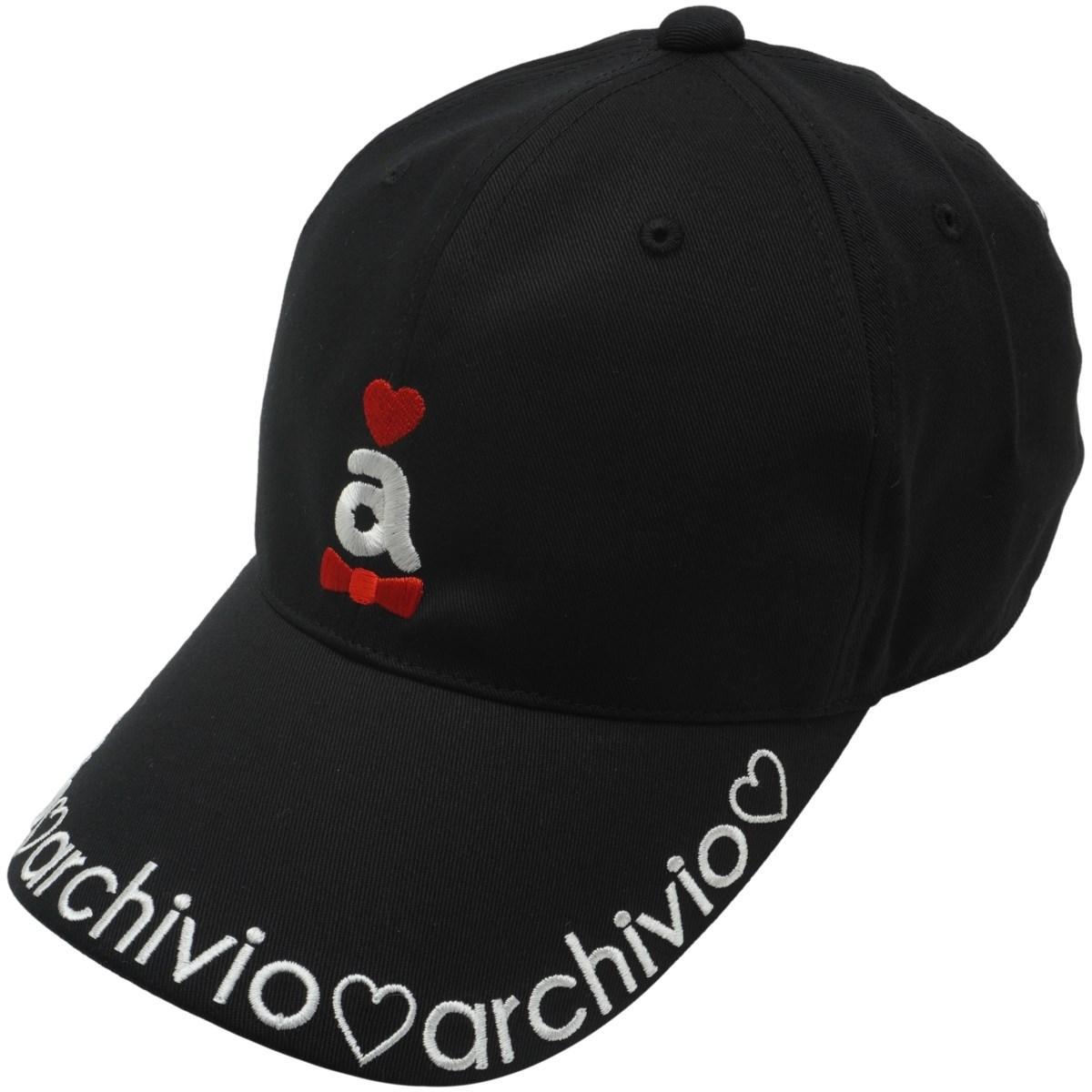 アルチビオ archivio キャップ フリー ブラック 001 レディス