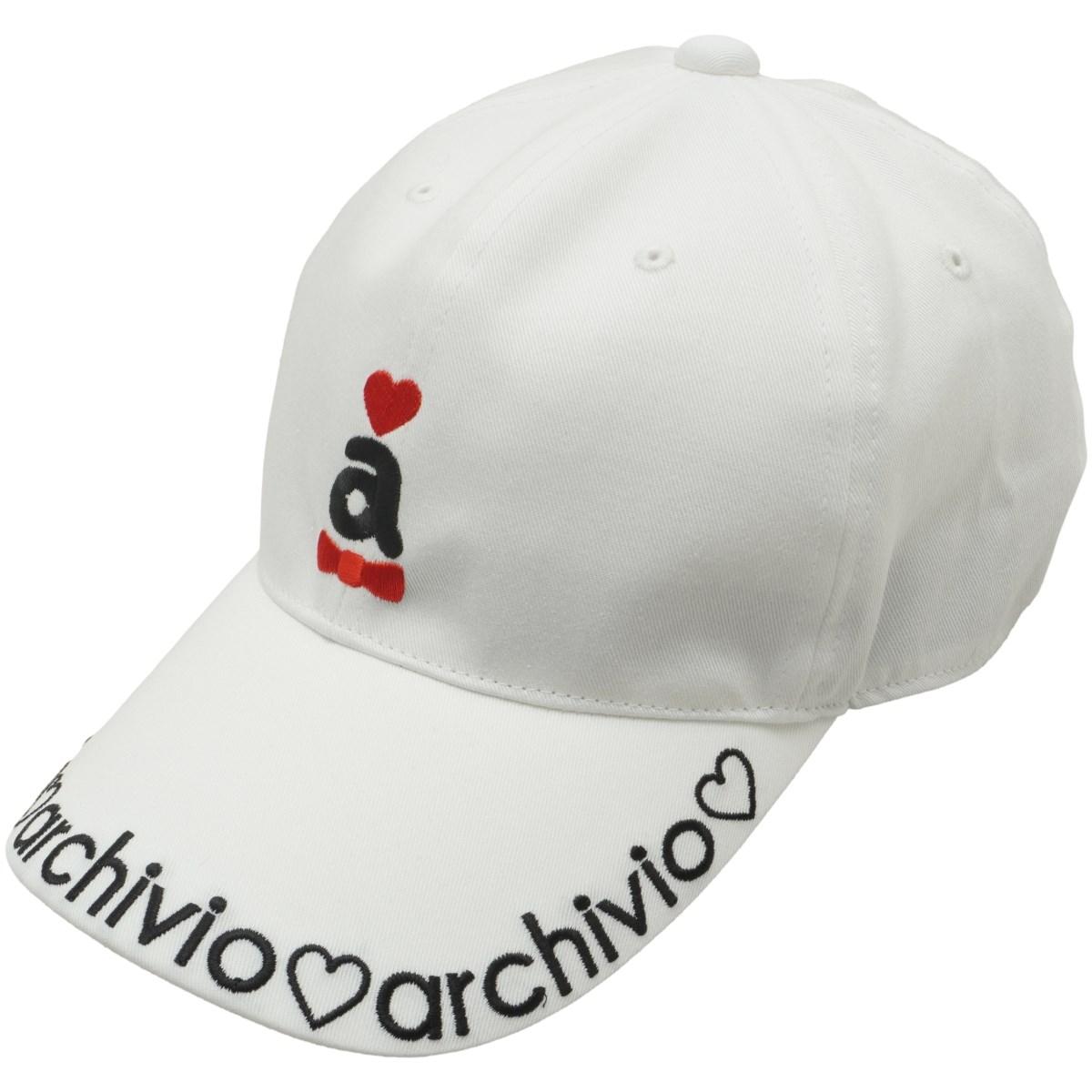 アルチビオ archivio キャップ フリー ホワイト 090 レディス
