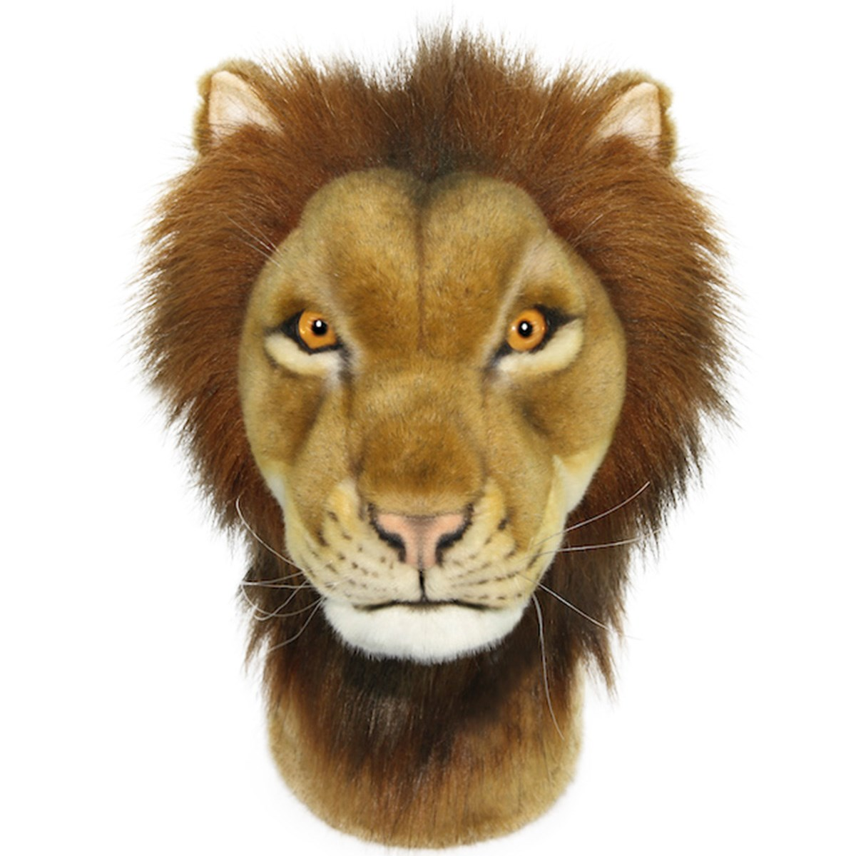 HANSA GOLF ヘッドカバー DR用 ライオン ブラウン