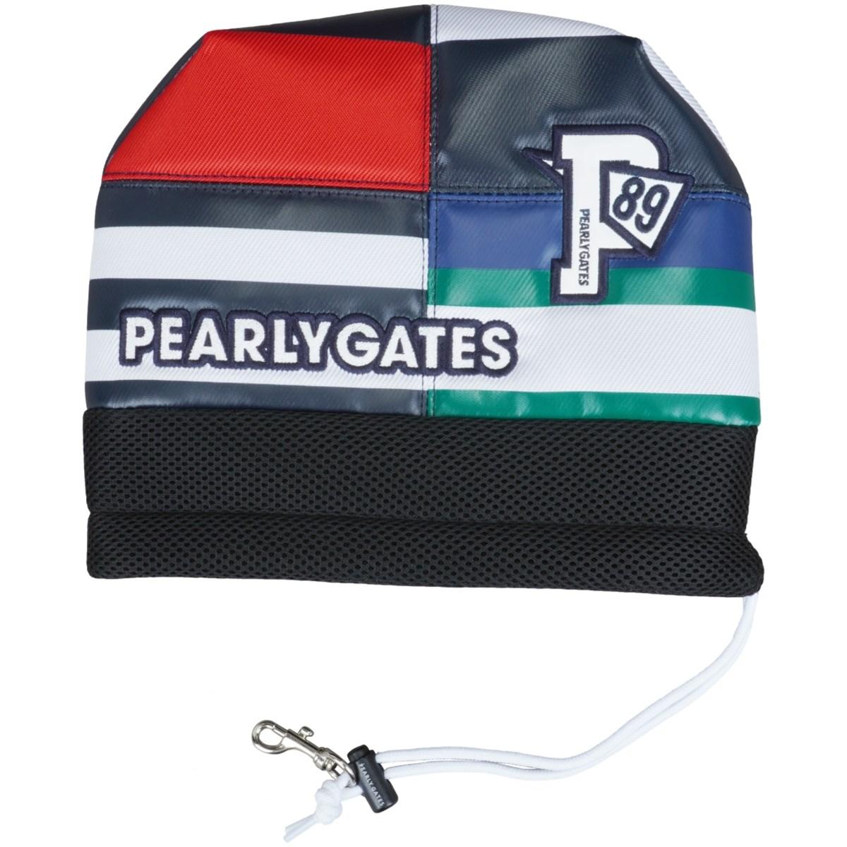 [2021年モデル] パーリーゲイツ PEARLY GATES マルチボーダー アイアンカバー ネイビー 120 ゴルフ