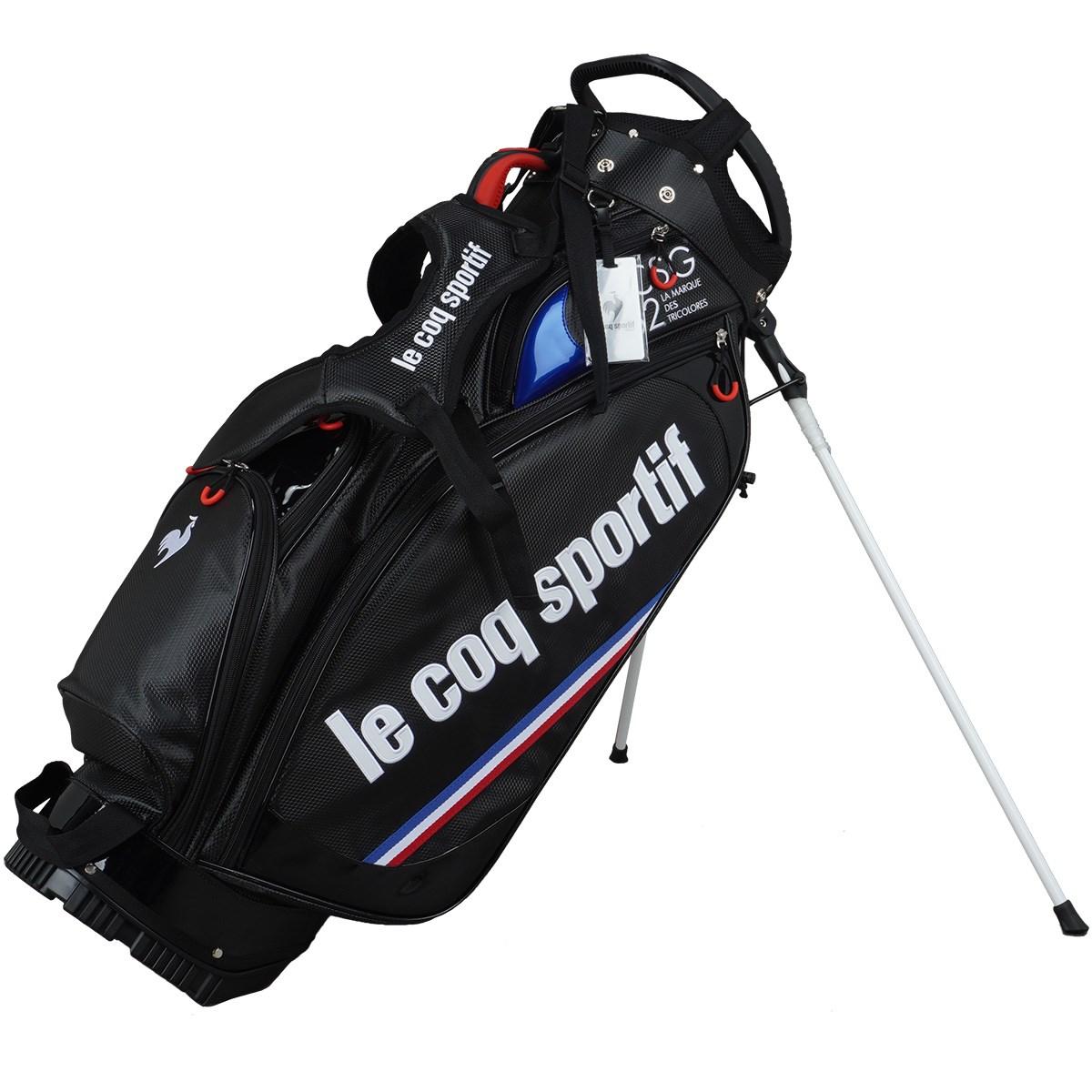 ルコックゴルフ Le coq sportif GOLF オンライン限定 スタンドキャディバッグ ブラック 00