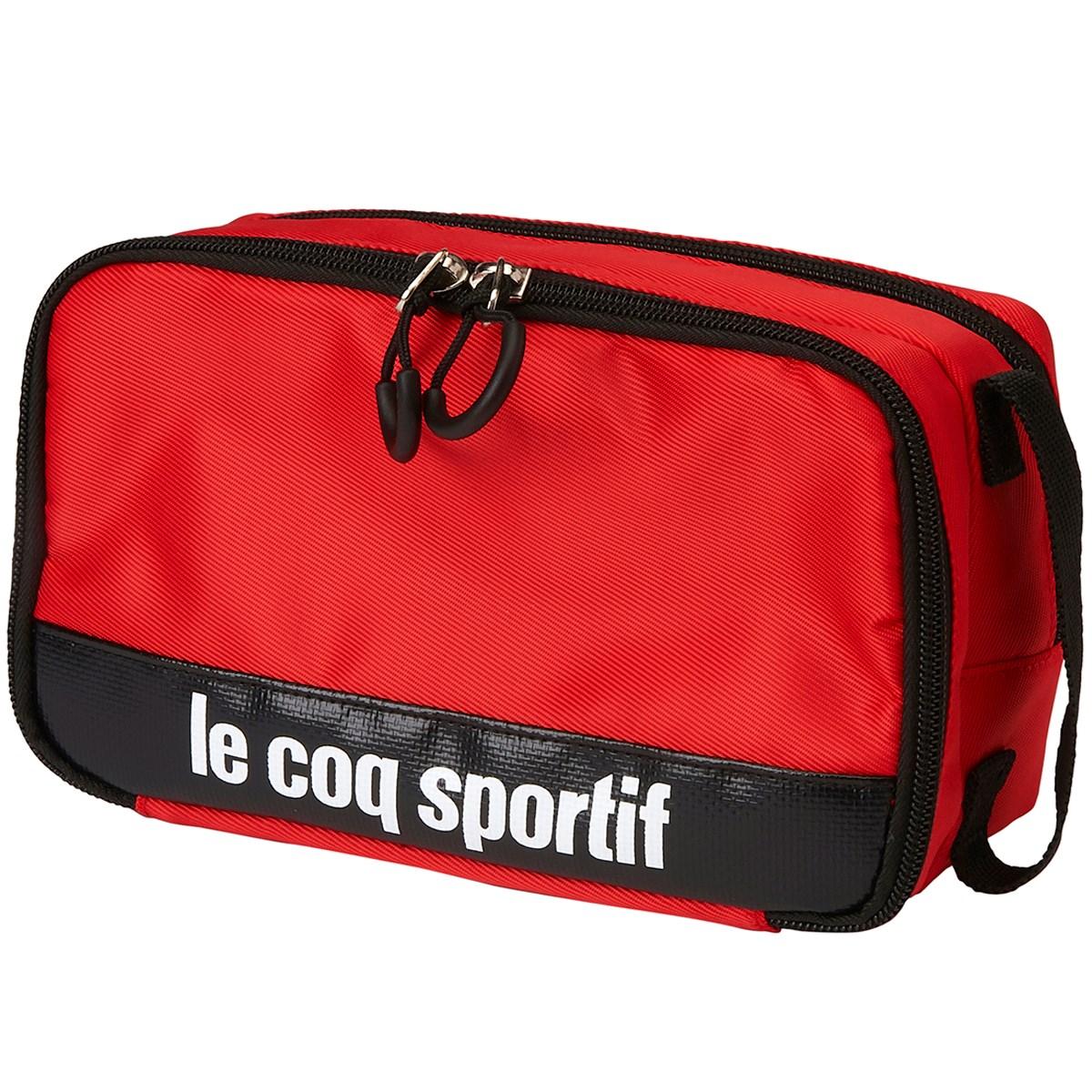 ルコックゴルフ Le coq sportif GOLF マルチポーチ レッド 00