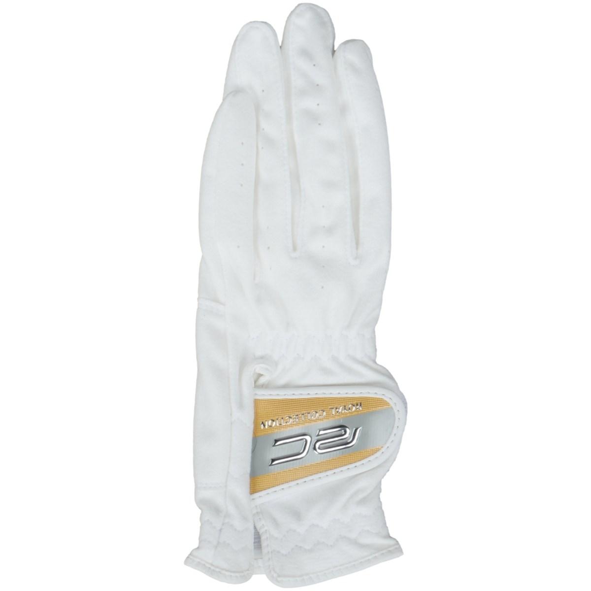 ロイヤルコレクション ROYAL COLLECTION 合皮グローブ 5枚セット 24cm 左手着用(右利き用) ホワイト/ゴールド