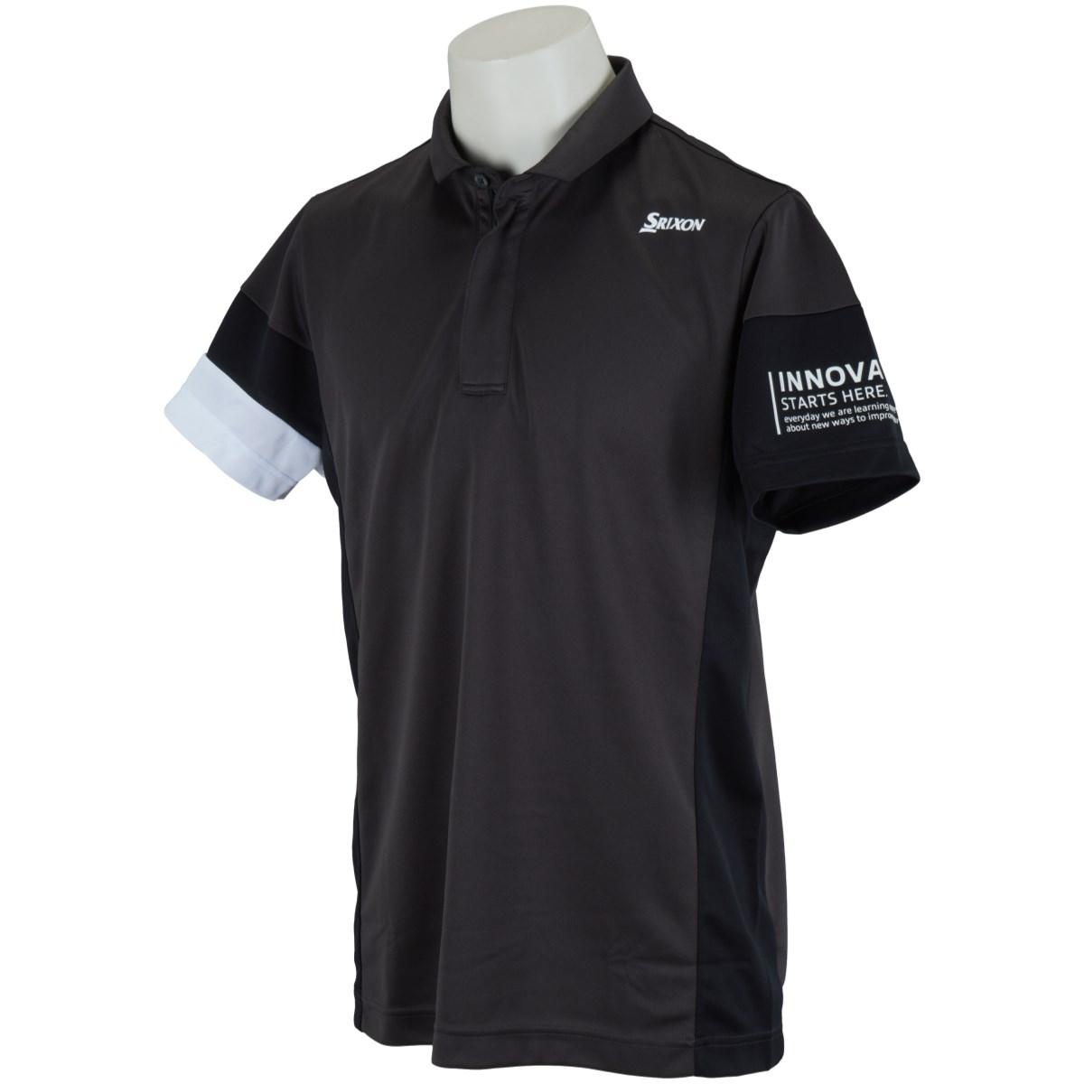 スリクソンゴルフ SRIXON 星野プロ共同開発 ニュープロカラー半袖ポロシャツ M グレー 00